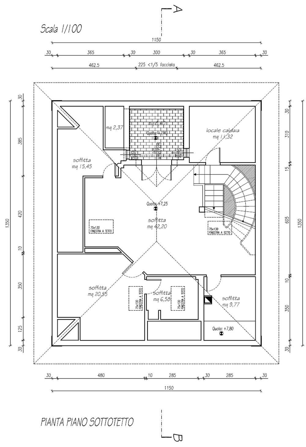Planimetria 4/4 per rif. 8746
