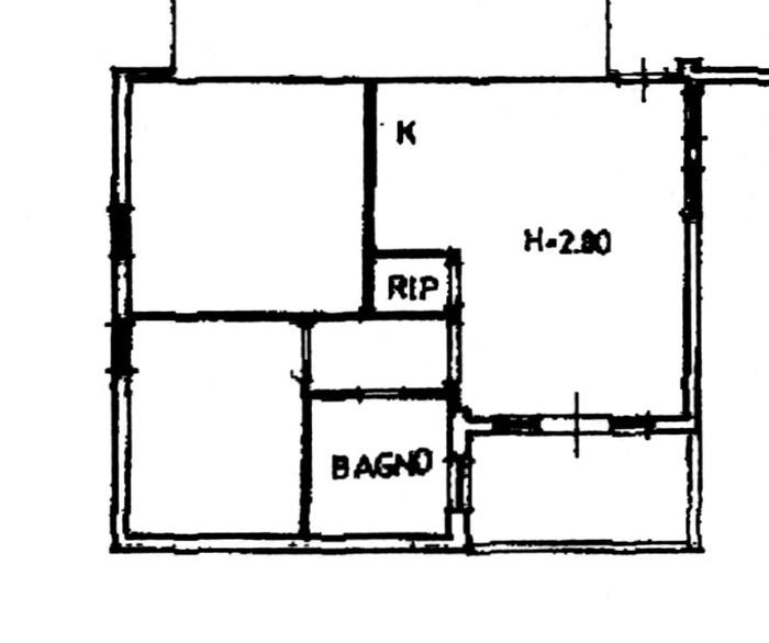 Planimetria 1/2 per rif. 1799-02