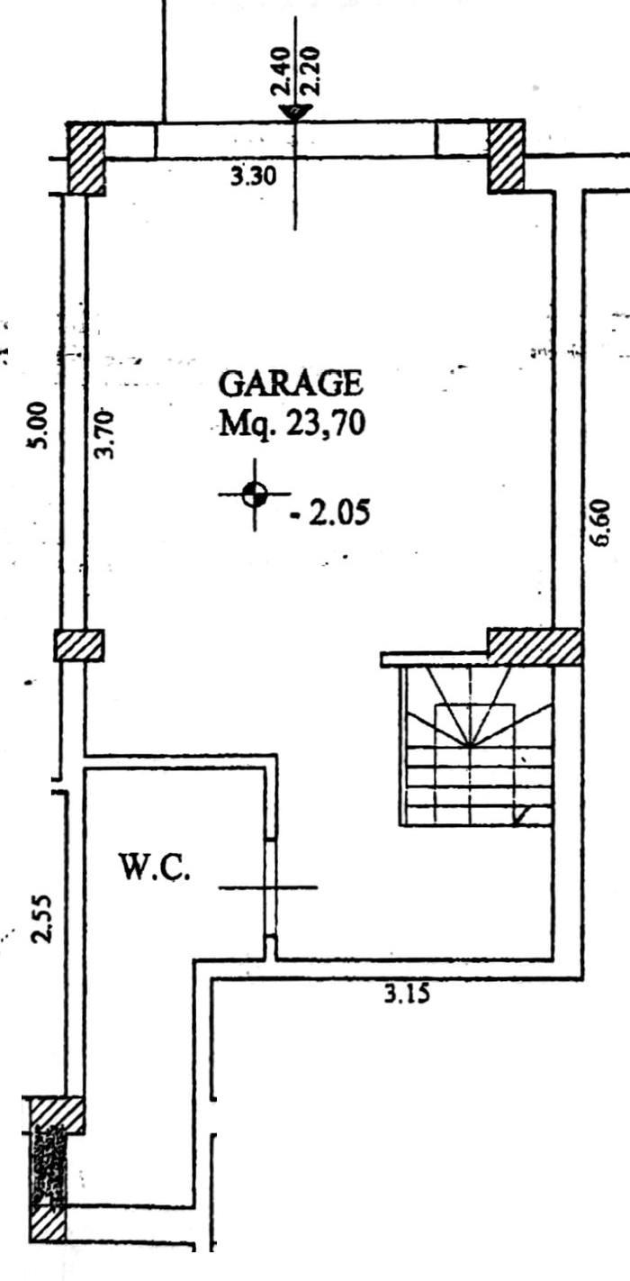 Planimetria 2/3 per rif. 8758