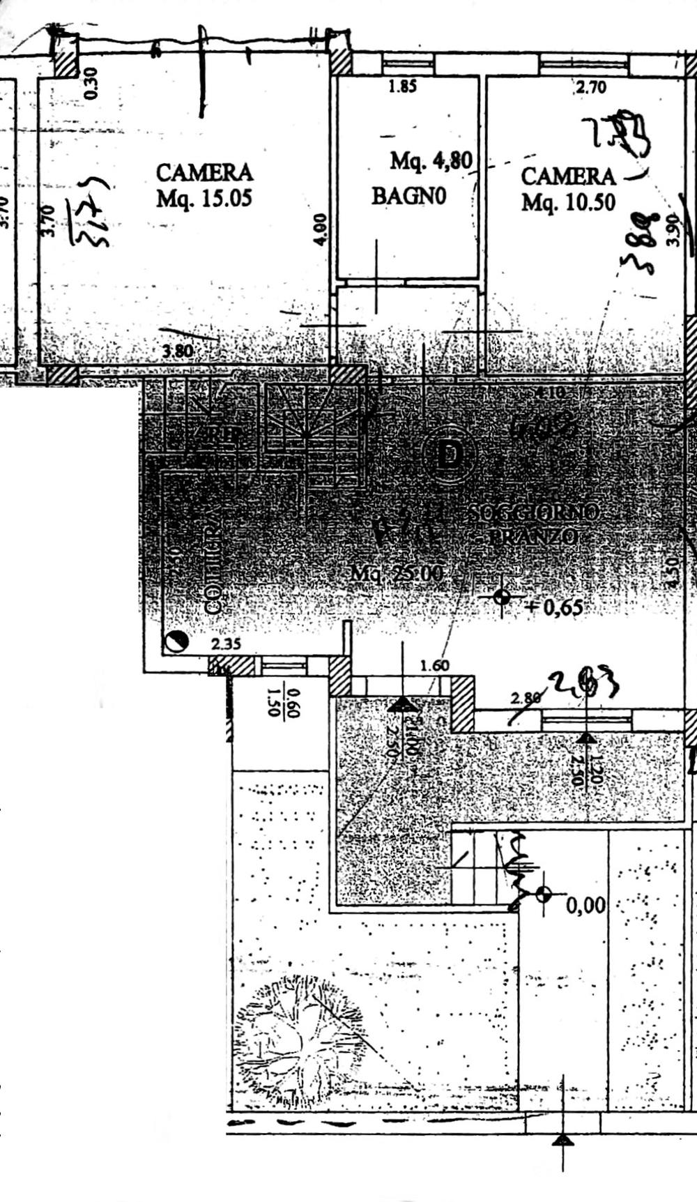 Planimetria 1/3 per rif. 8758