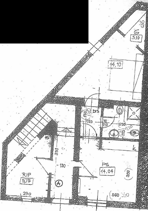 Planimetria 1/2 per rif. 8767