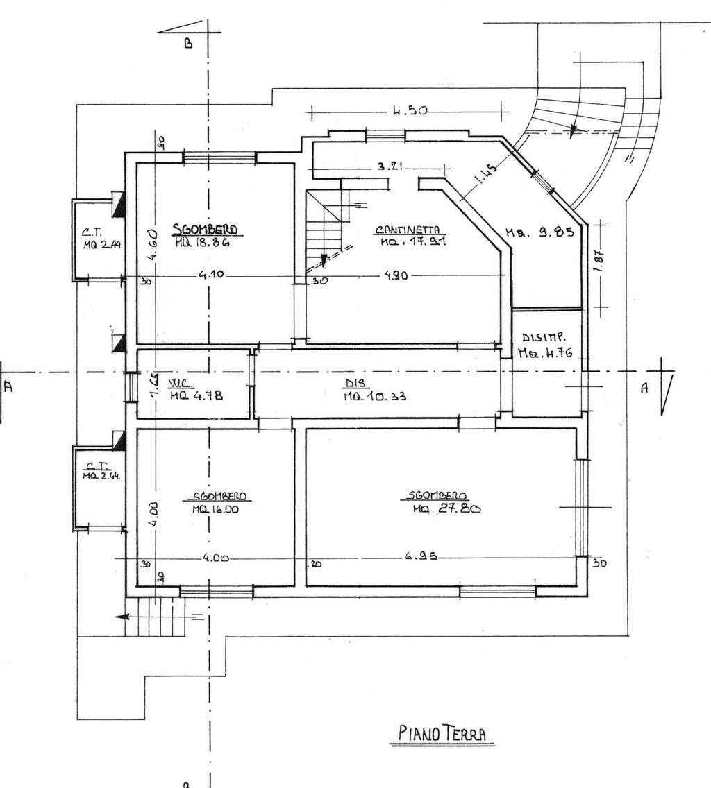 Planimetria 2/2 per rif. 8772