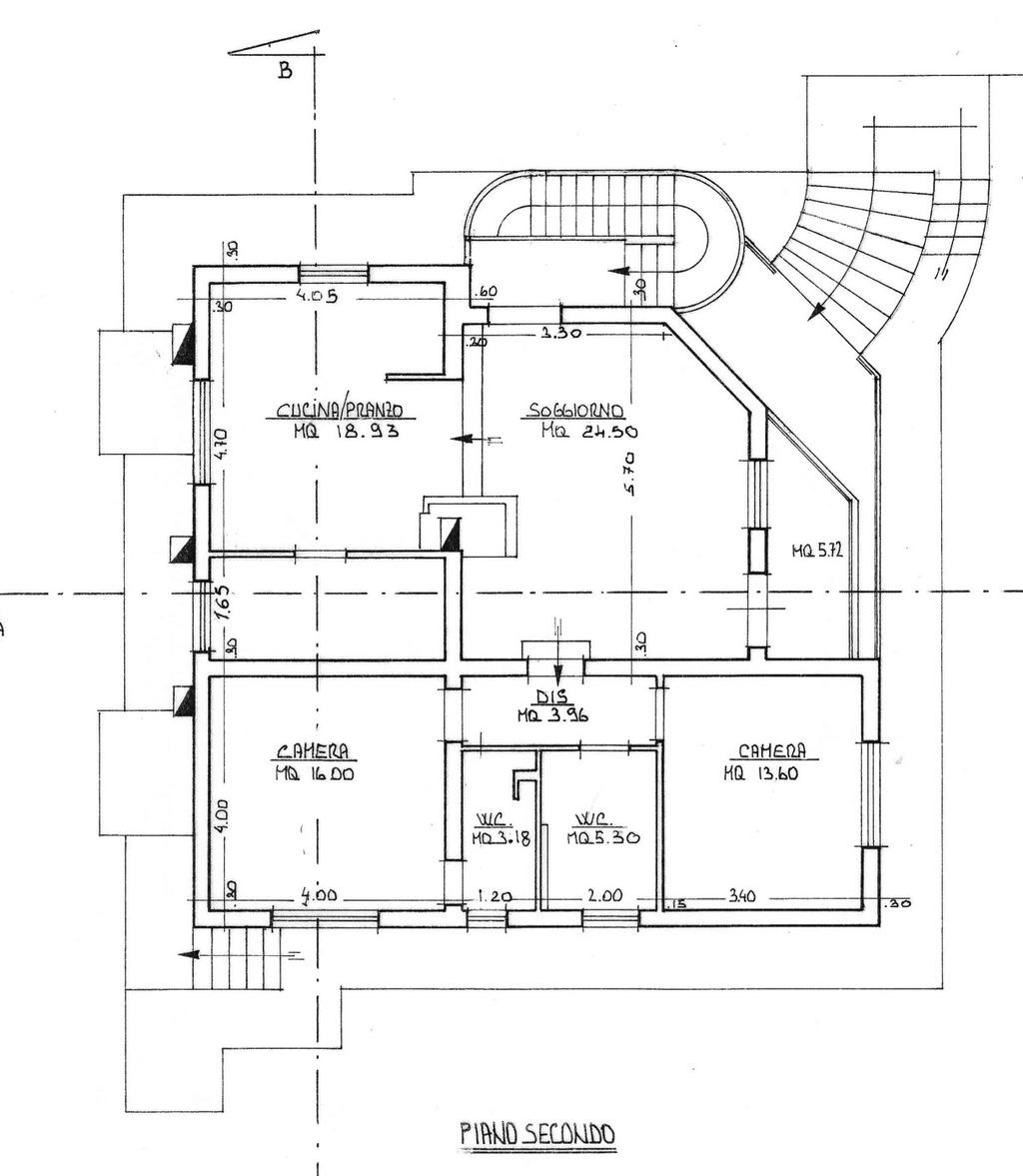 Planimetria 1/1 per rif. 8773
