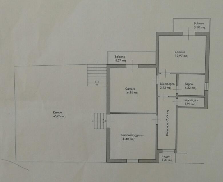Planimetria 1/1 per rif. 8779