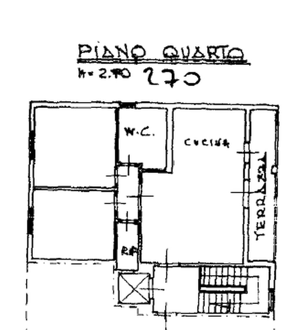 Planimetria 1/2 per rif. 8766