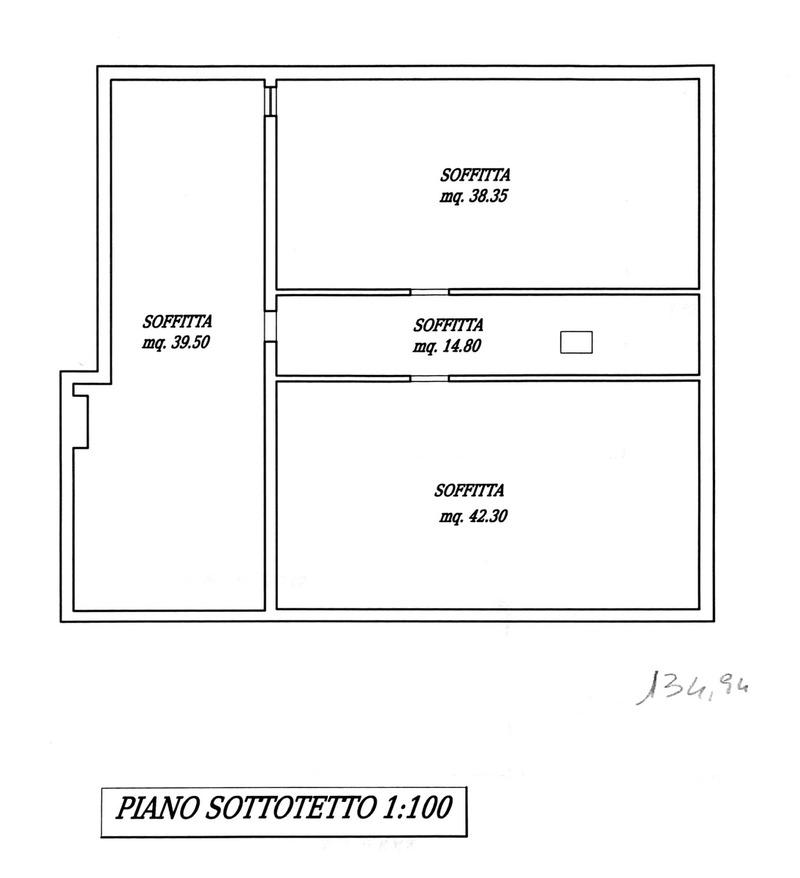 Planimetria 3/5 per rif. 8786