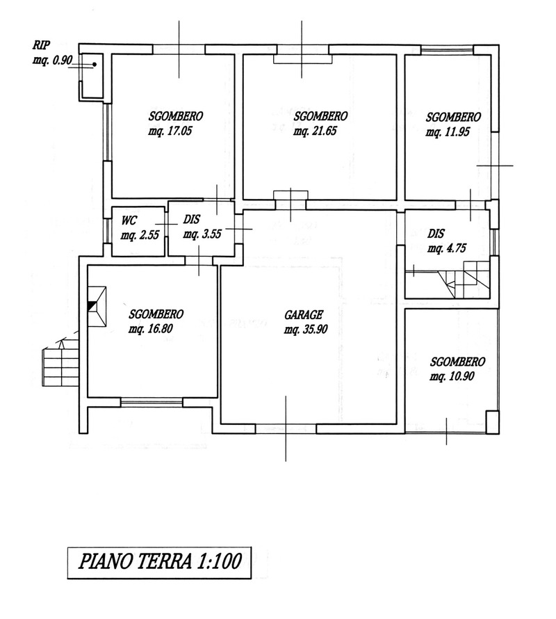 Planimetria 2/5 per rif. 8786
