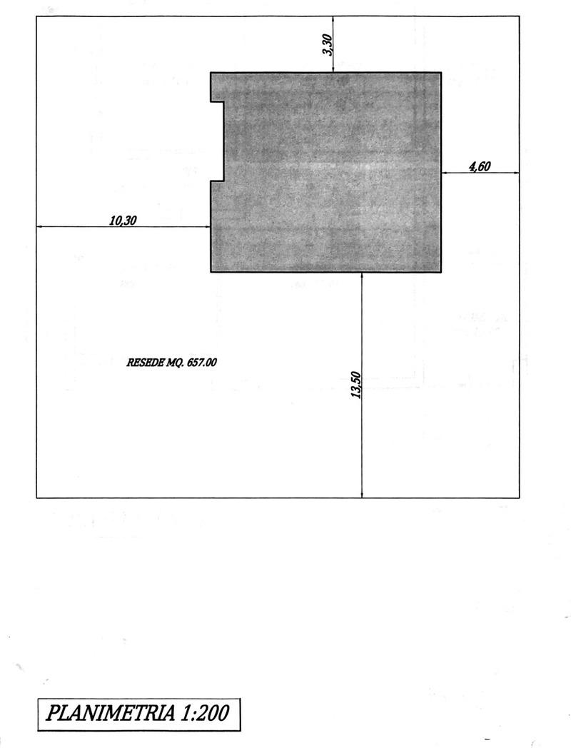 Planimetria 4/5 per rif. 8786