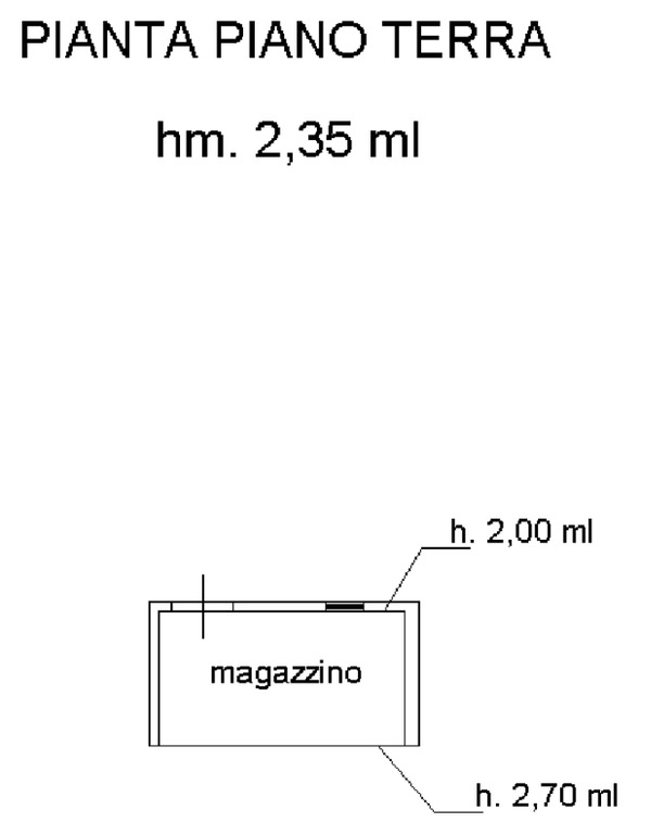 Planimetria 3/3 per rif. 8790