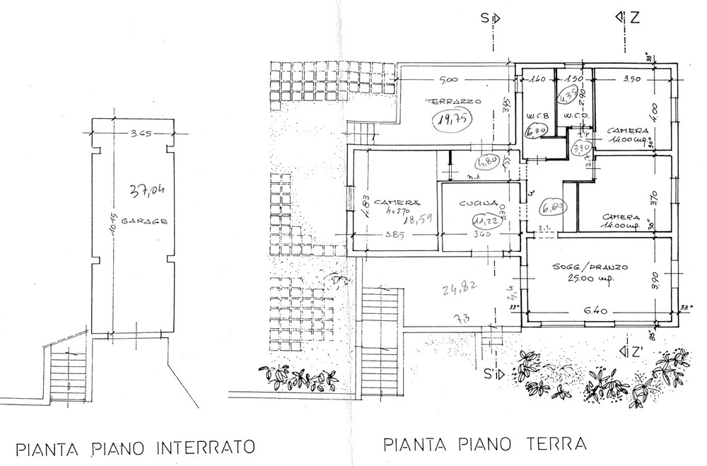 Planimetria 1/3 per rif. 8793