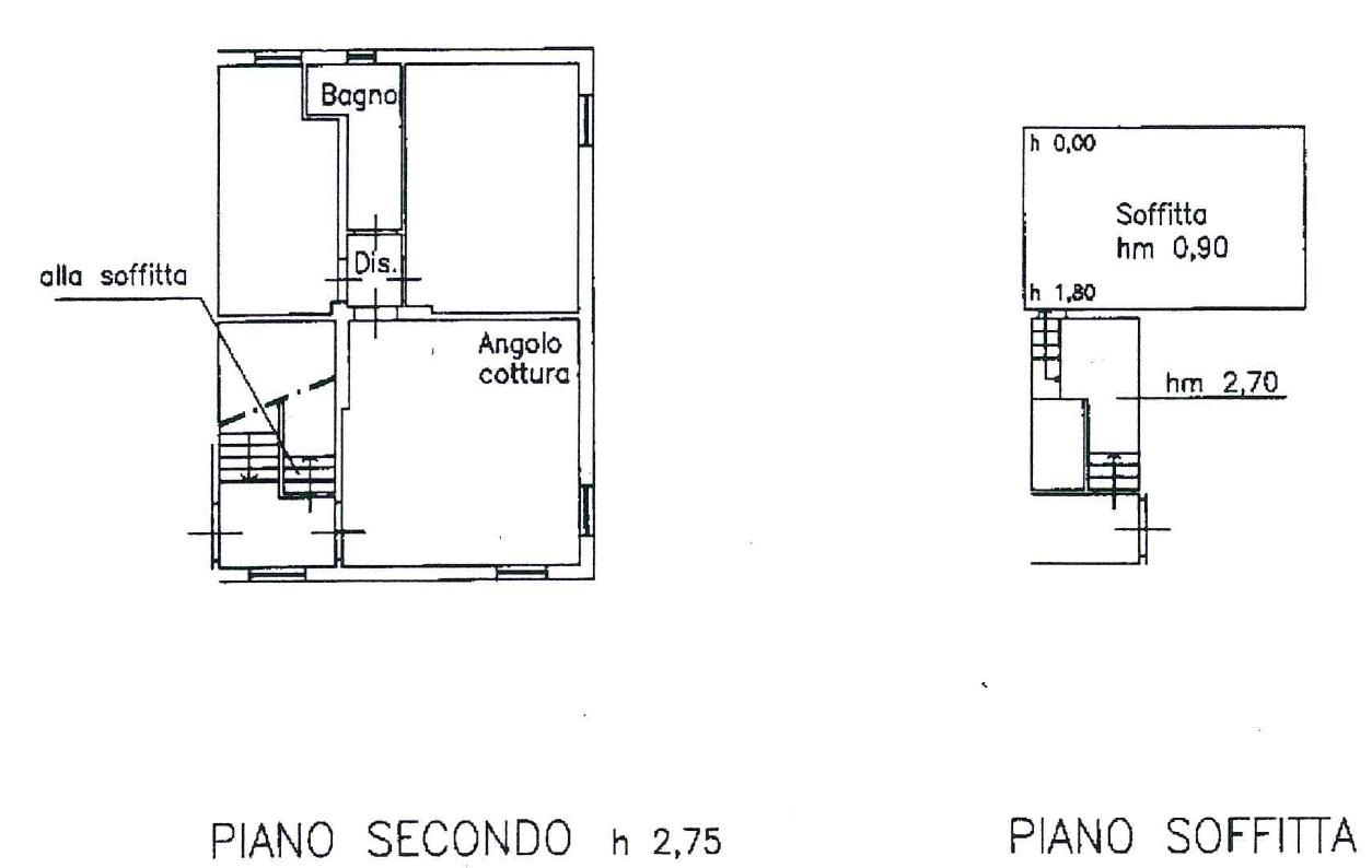 Planimetria 1/2 per rif. 8791