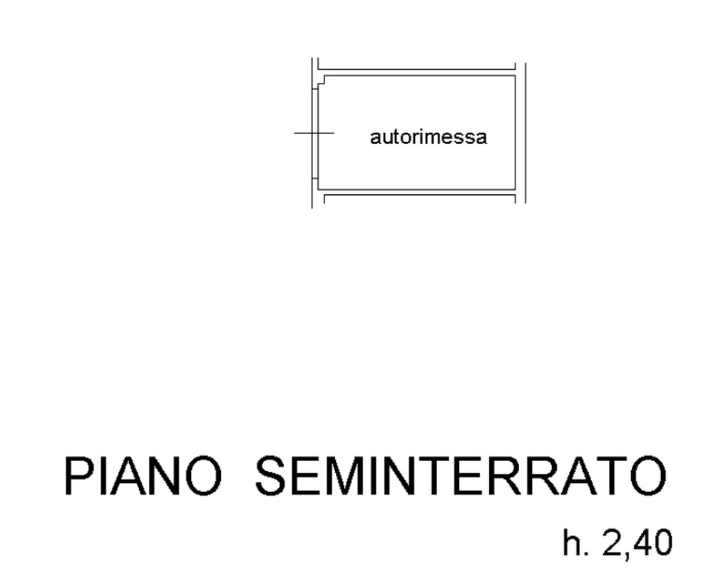 Planimetria 2/3 per rif. 8794