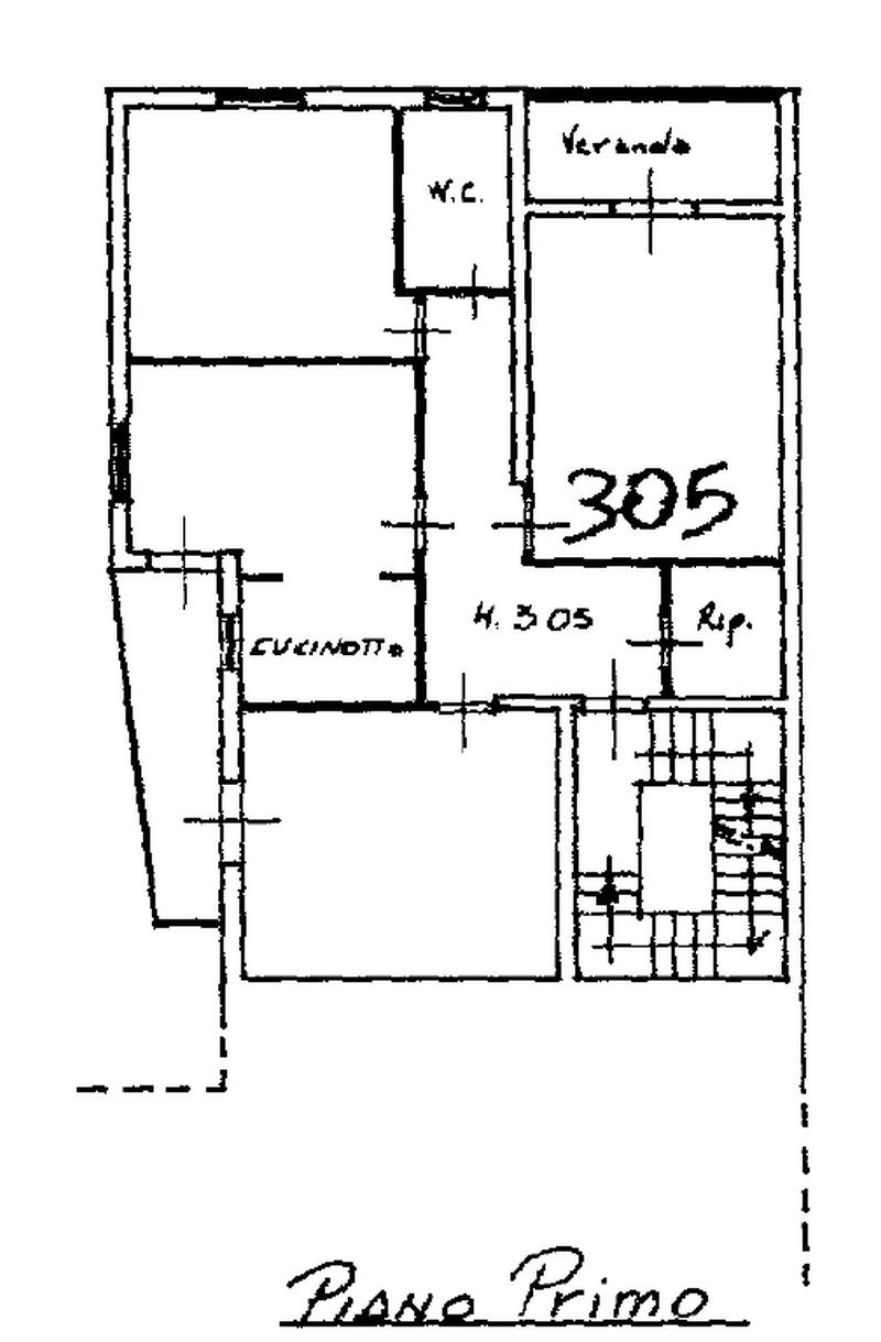 Planimetria 1/2 per rif. 8691
