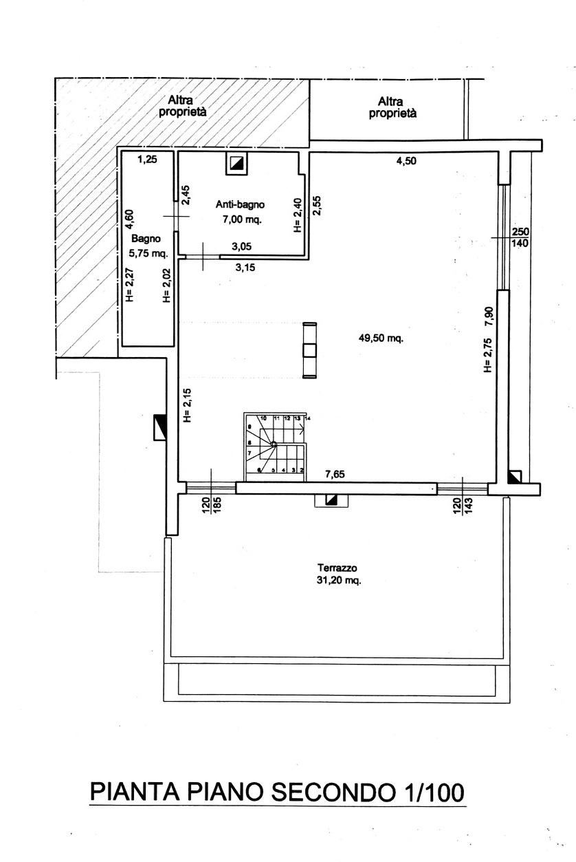 Planimetria 2/2 per rif. 8802-02