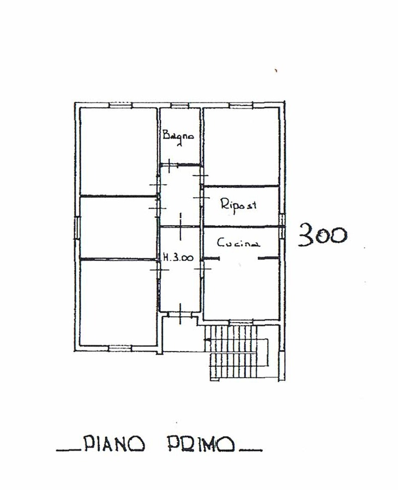 Planimetria 2/5 per rif. 8560