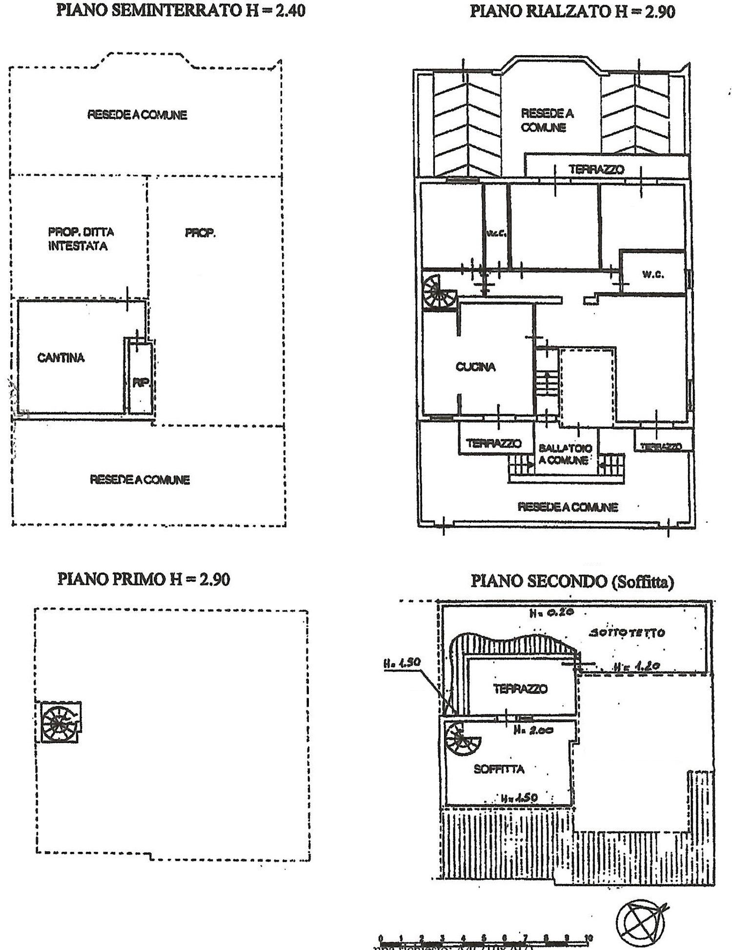 Planimetria 1/1 per rif. 8809