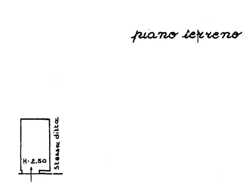 Planimetria 2/2 per rif. 8817