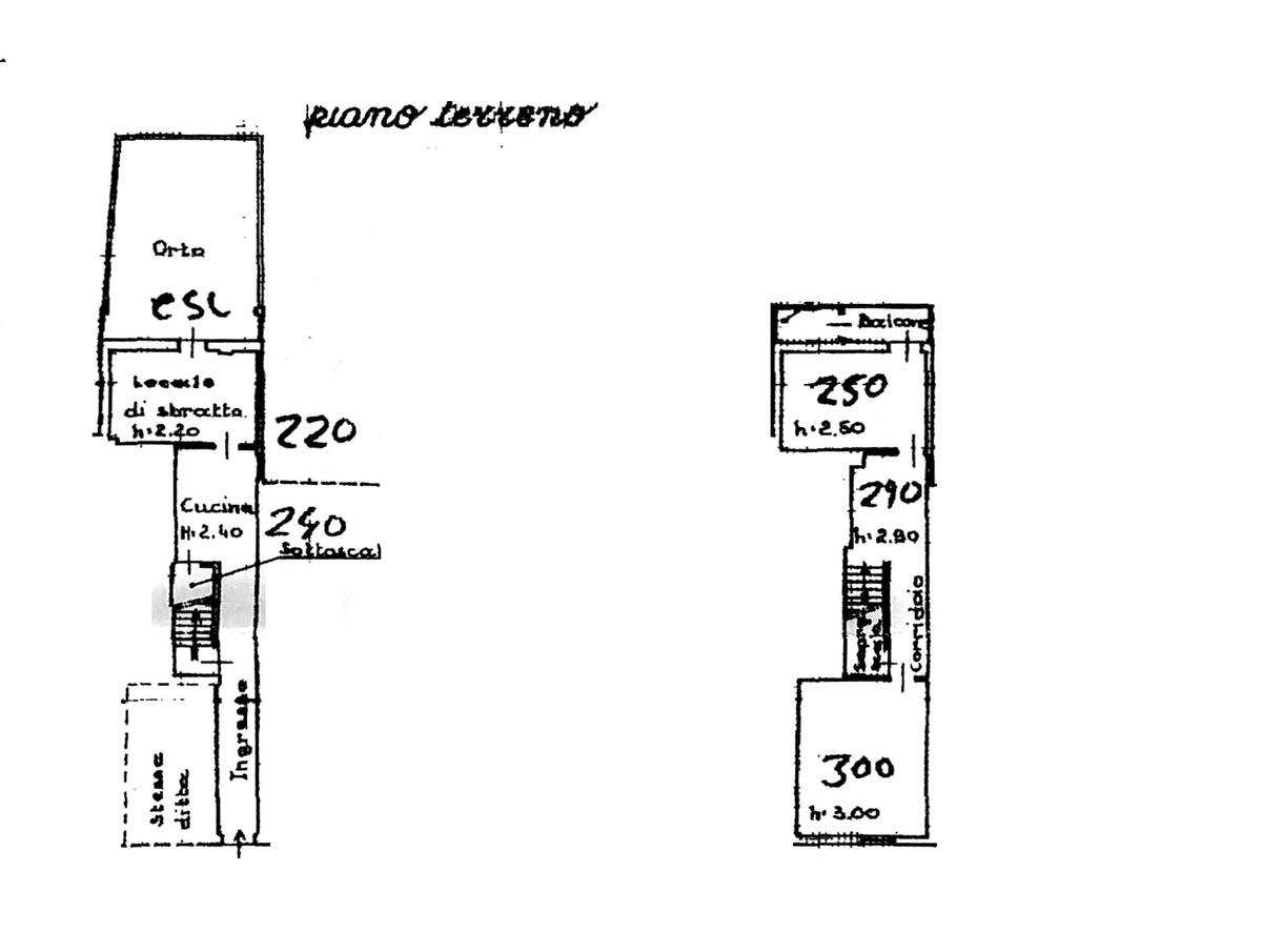 Planimetria 1/2 per rif. 8817