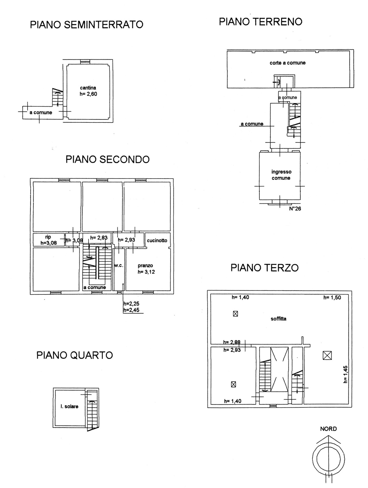 Planimetria 1/1 per rif. 8813
