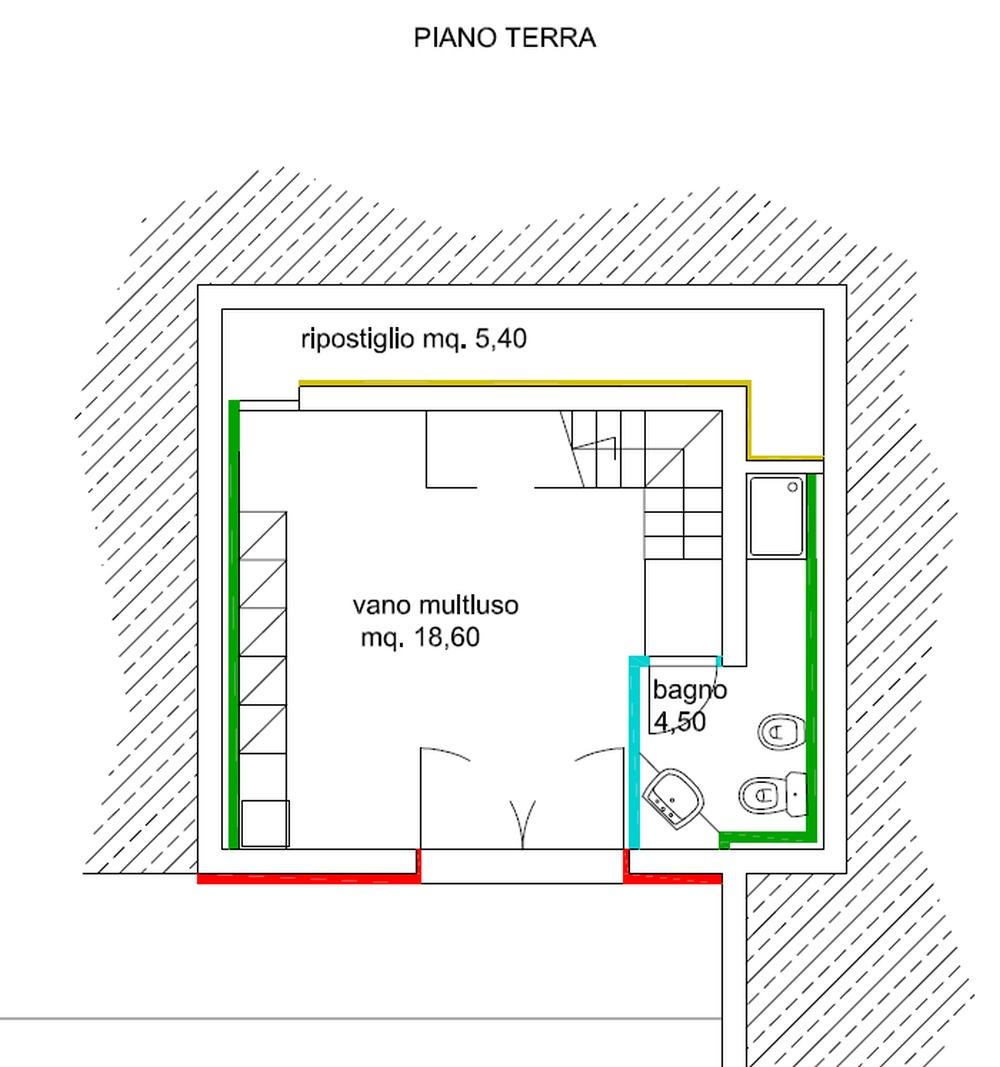 Planimetria 2/2 per rif. 8819-02