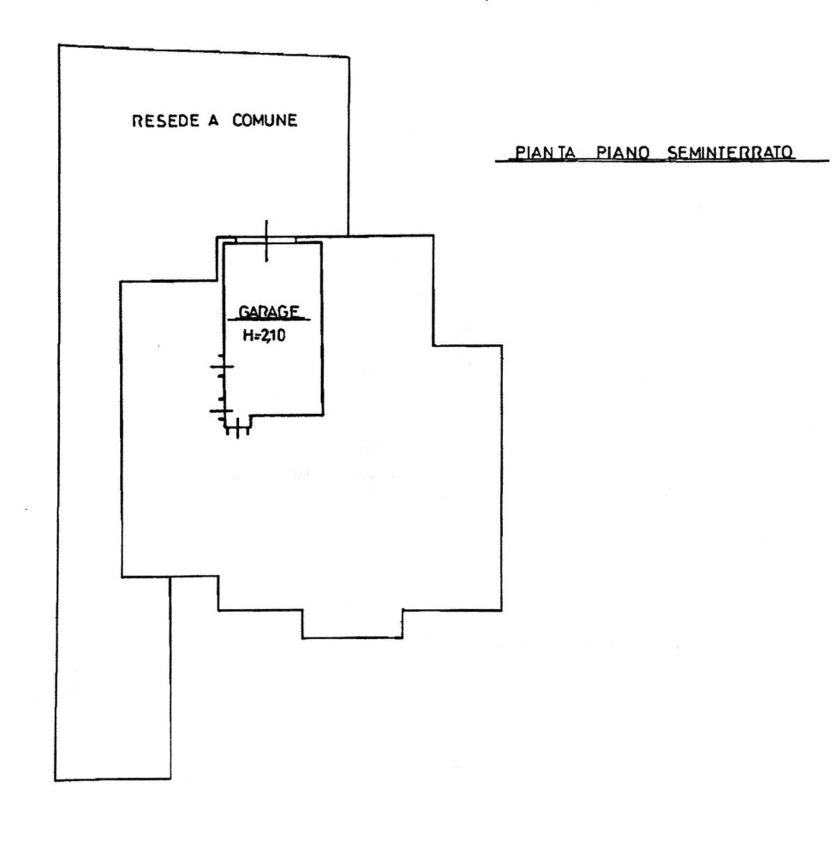 Planimetria 3/3 per rif. 8807