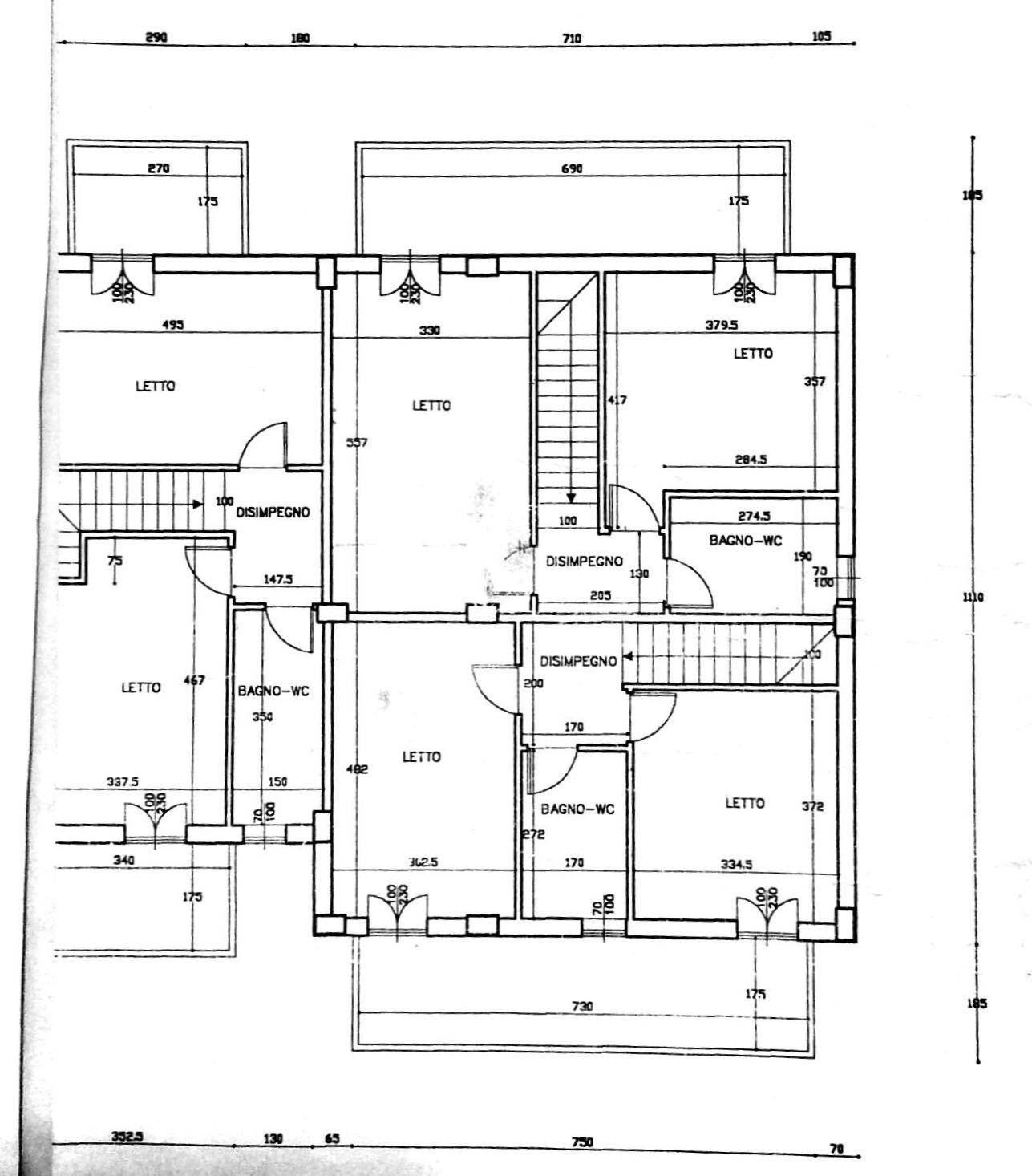 Planimetria 2/5 per rif. 8823