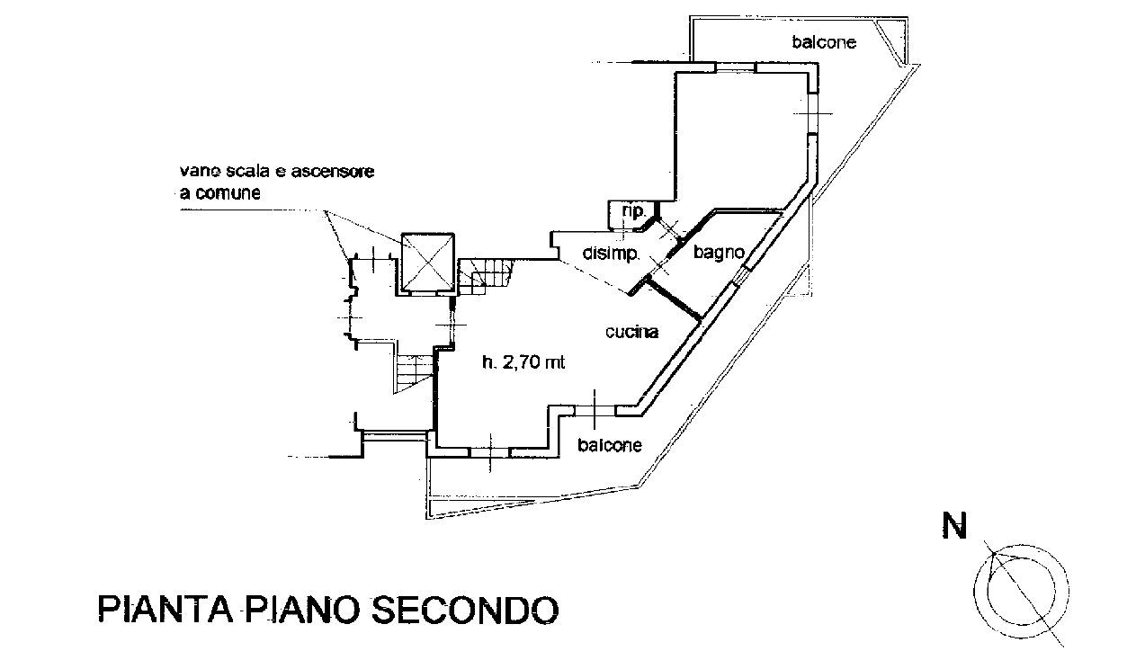 Planimetria 1/4 per rif. 8824
