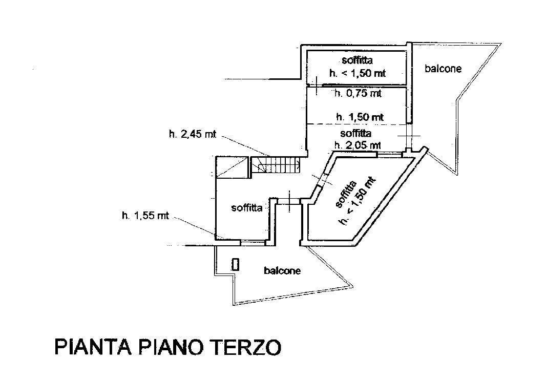 Planimetria 2/4 per rif. 8824