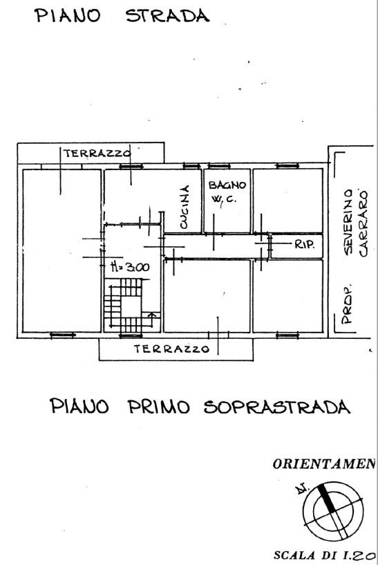 Planimetria 1/2 per rif. 8827