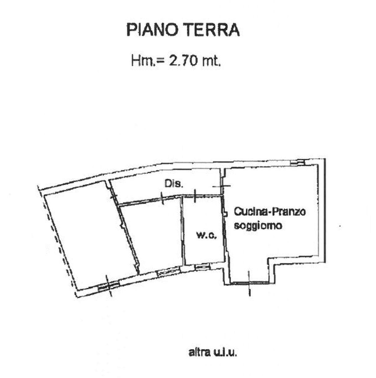 Planimetria 1/1 per rif. 8830
