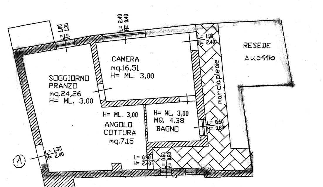 Planimetria 1/1 per rif. 8816