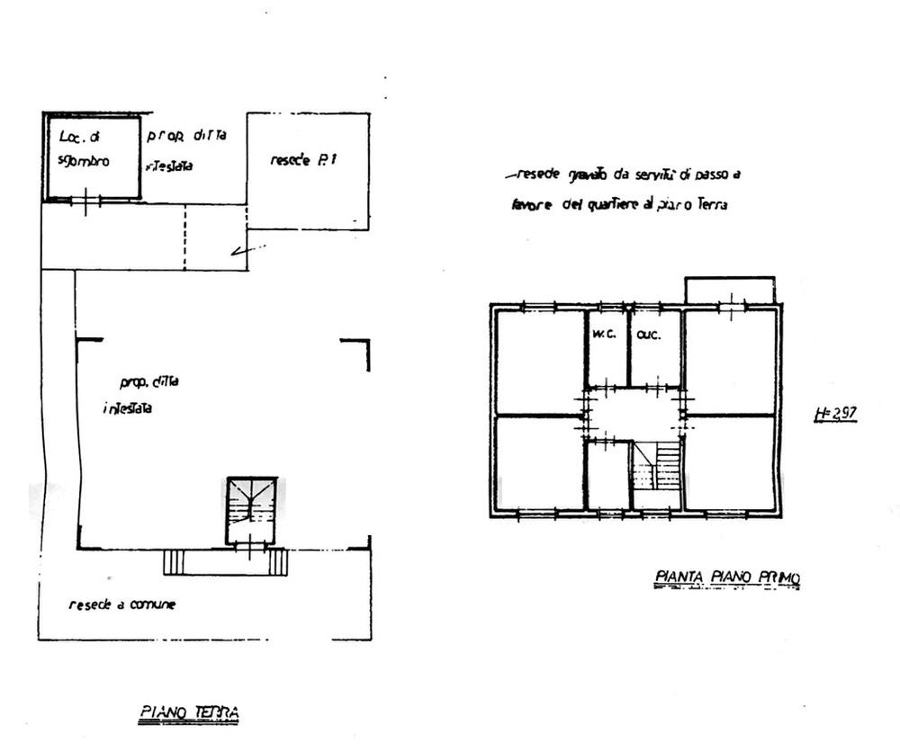 Planimetria 1/2 per rif. 8832