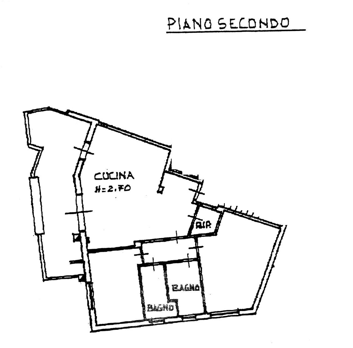 Planimetria 1/2 per rif. 8836