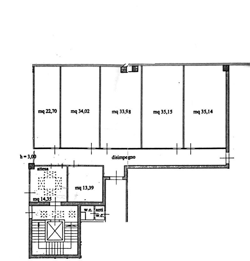 Planimetria 1/1 per rif. 8840