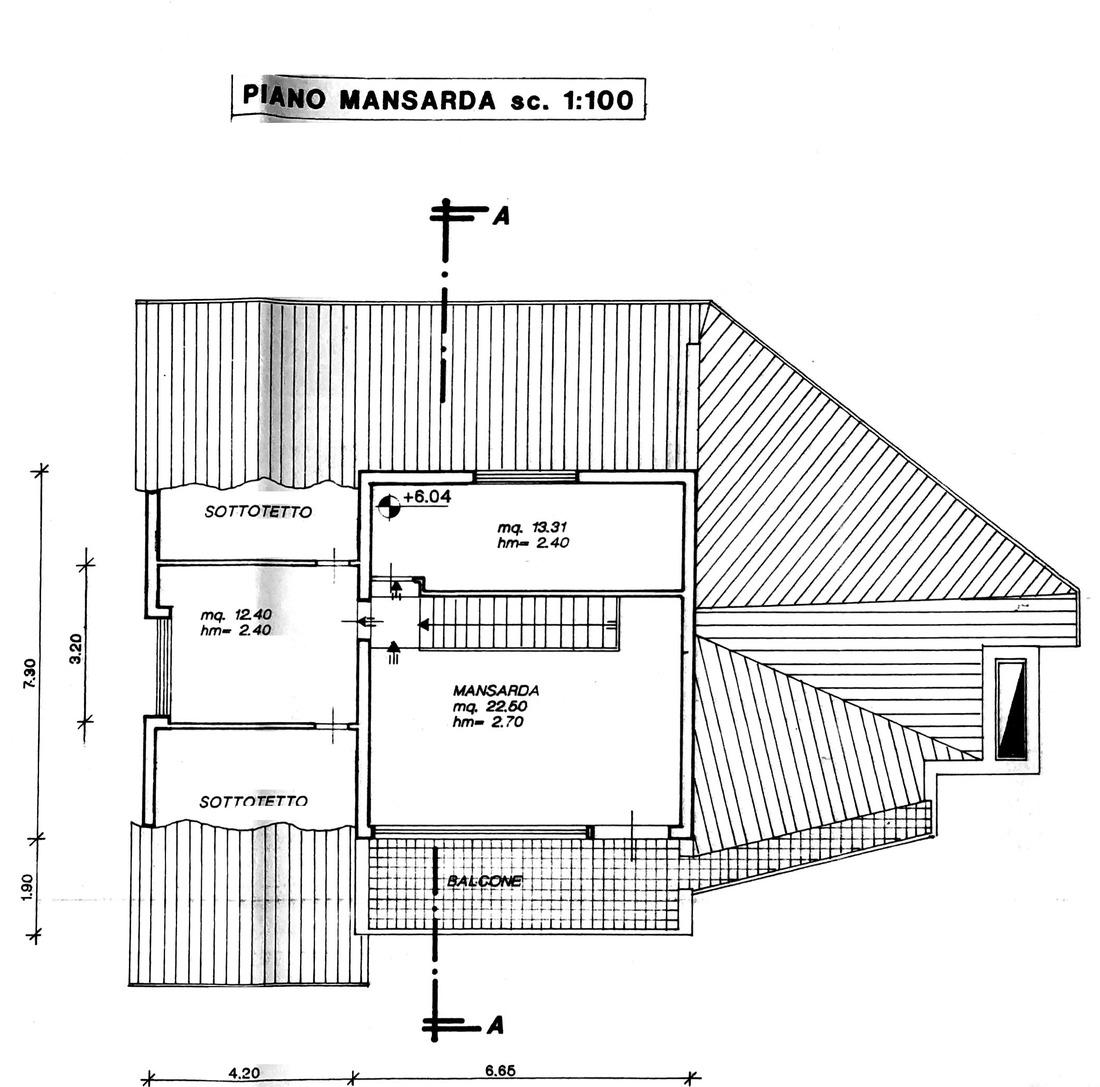 Planimetria 2/3 per rif. 8752