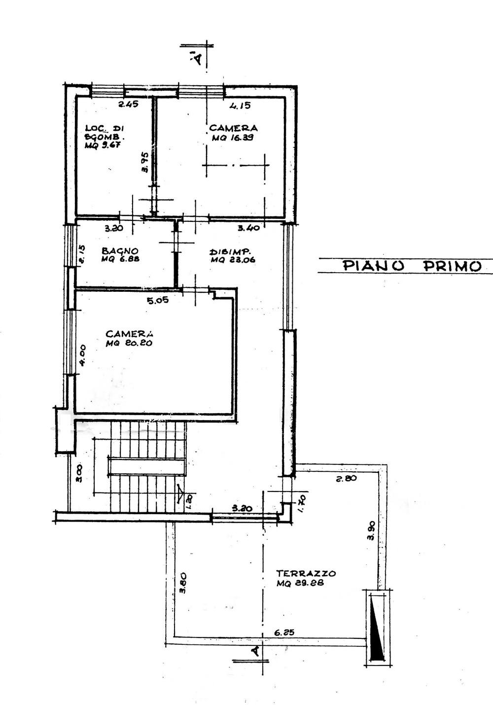 Planimetria 2/4 per rif. 8787