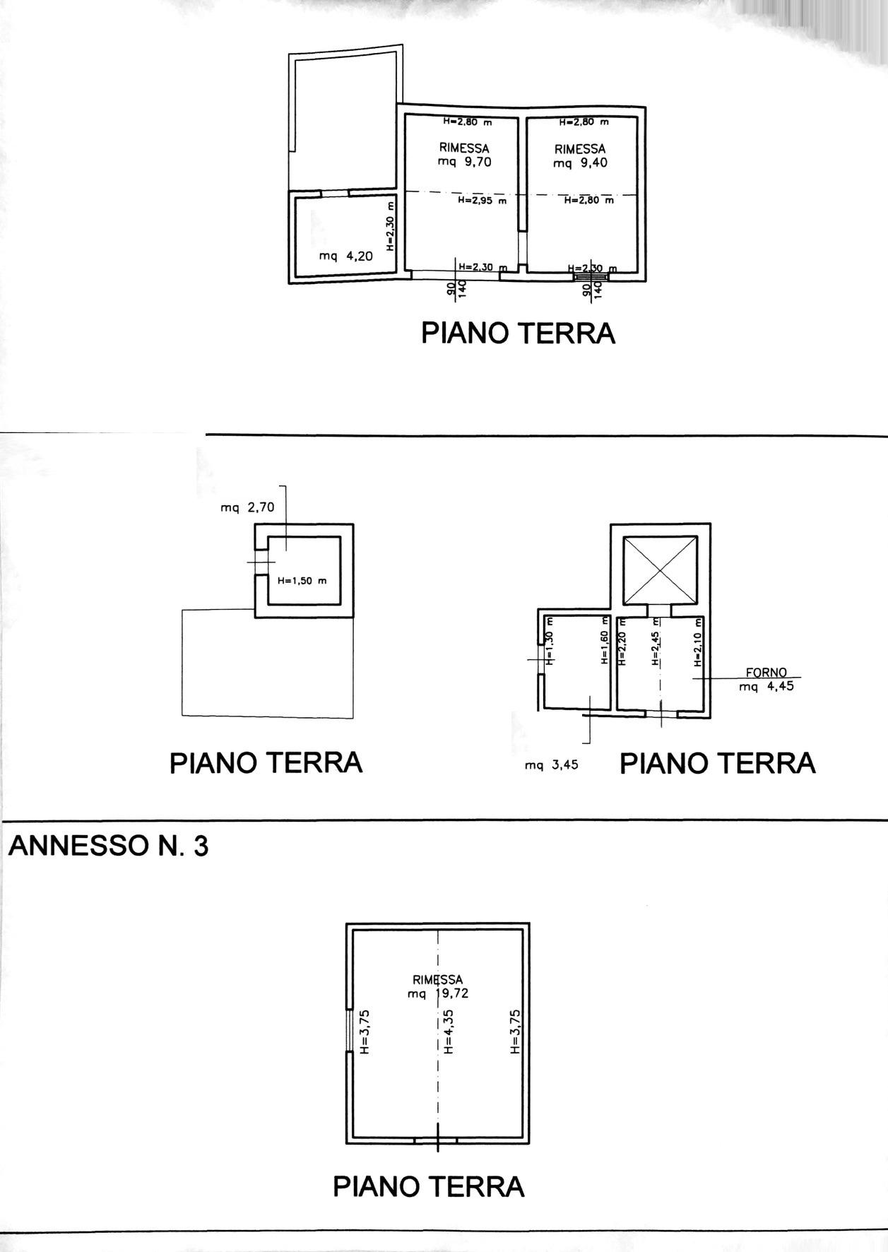 Planimetria 2/4 per rif. 8176-02
