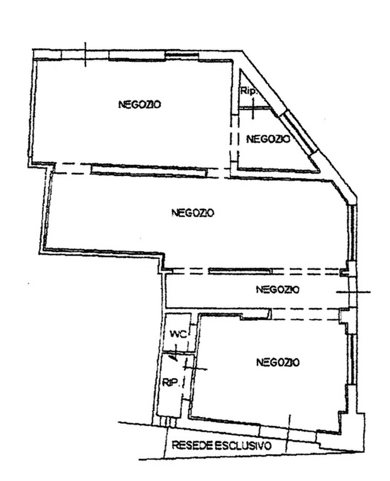 Planimetria 1/2 per rif. 591