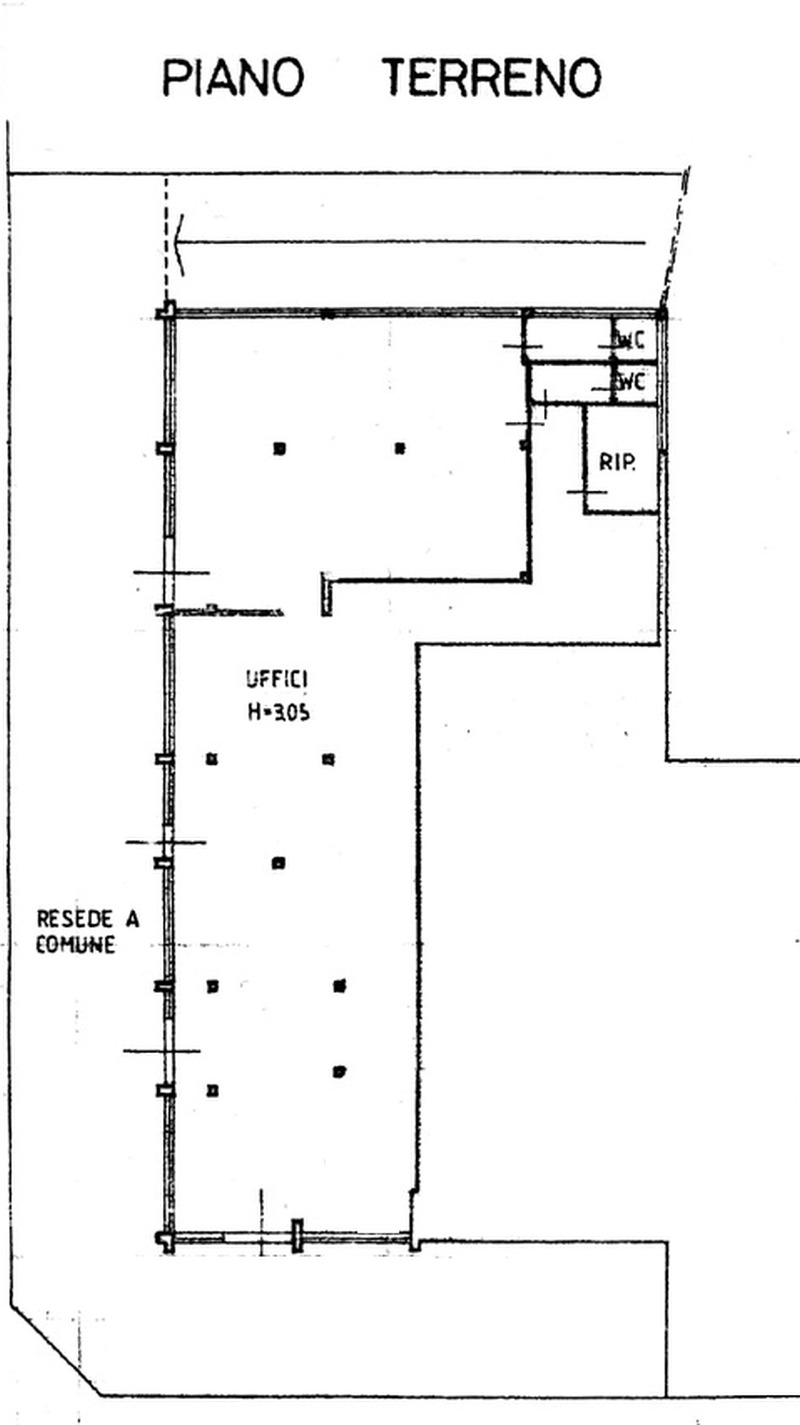 Planimetria 1/1 per rif. 8851