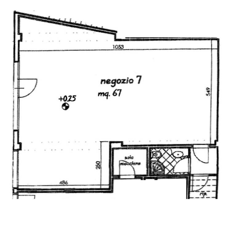 Planimetria 1/2 per rif. 594-05