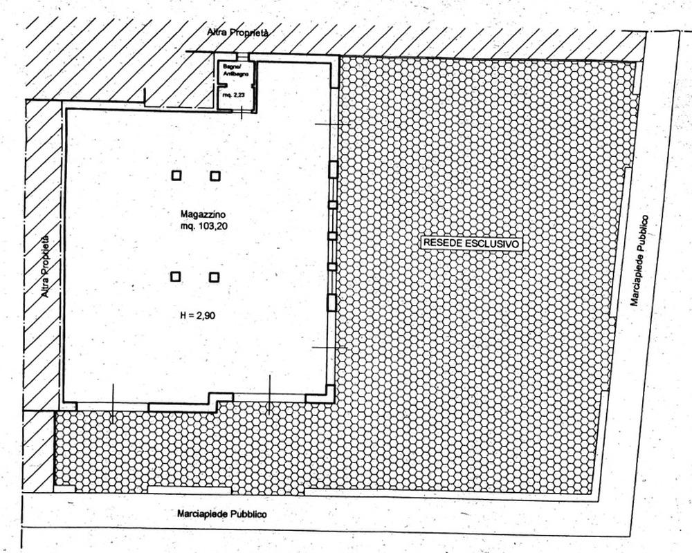 Planimetria 1/1 per rif. 593