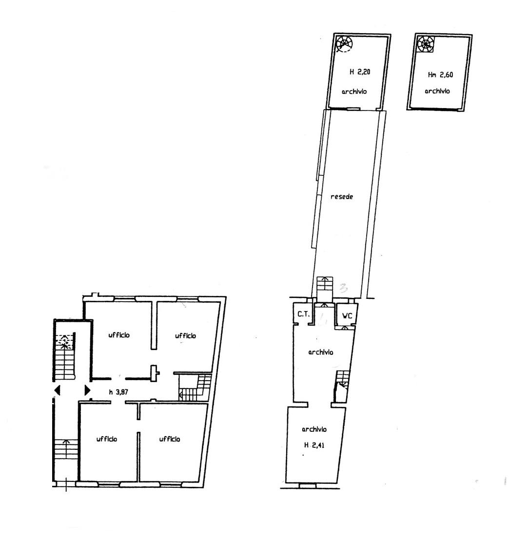 Planimetria 1/1 per rif. 8852