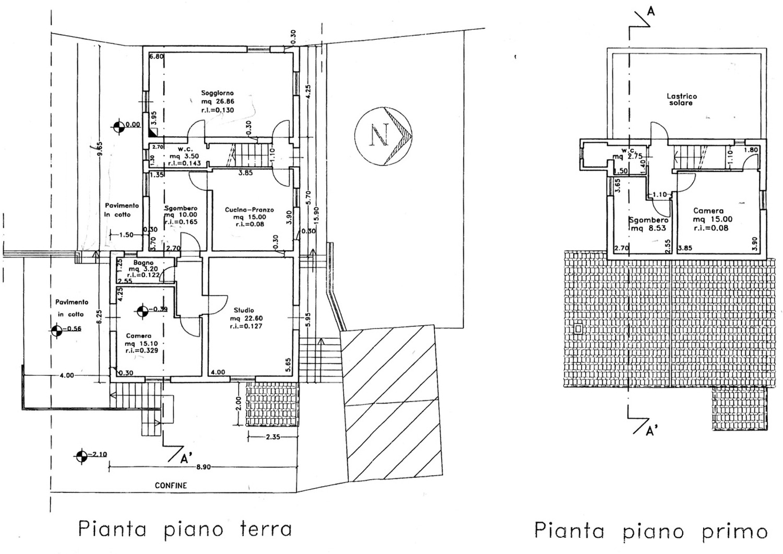 Planimetria 1/1 per rif. 8856