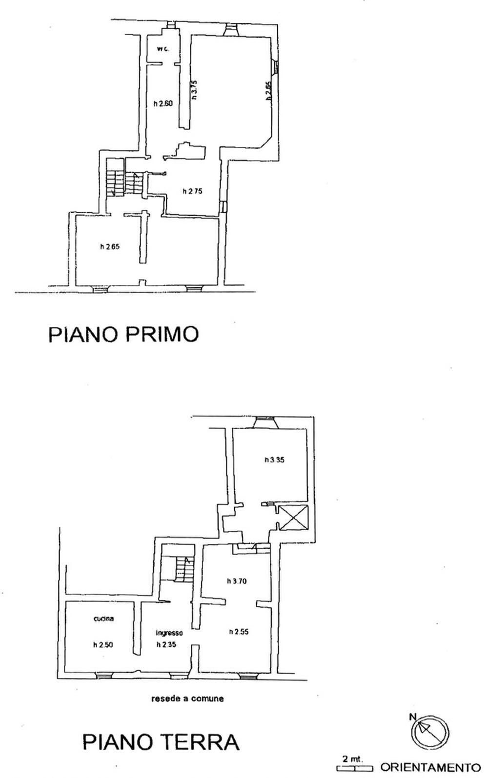 Planimetria 1/1 per rif. 8857