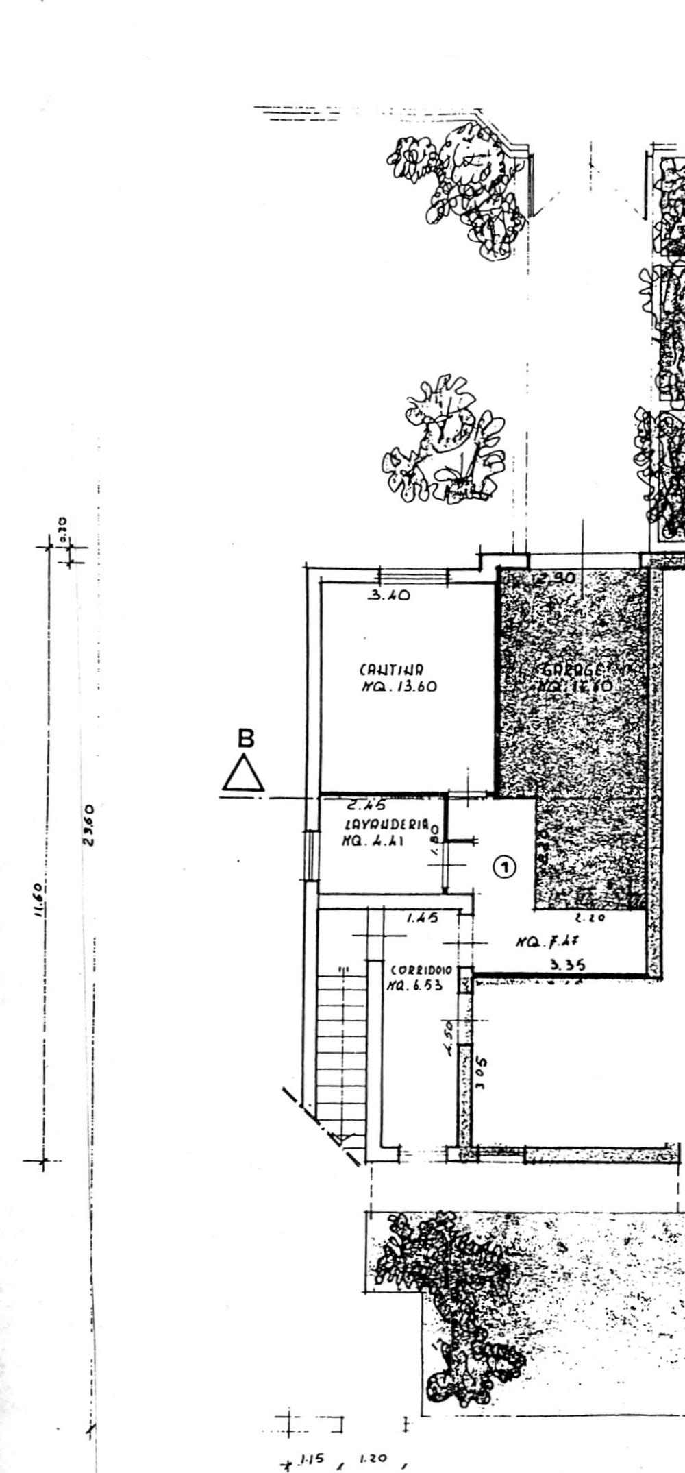 Planimetria 2/2 per rif. 8861