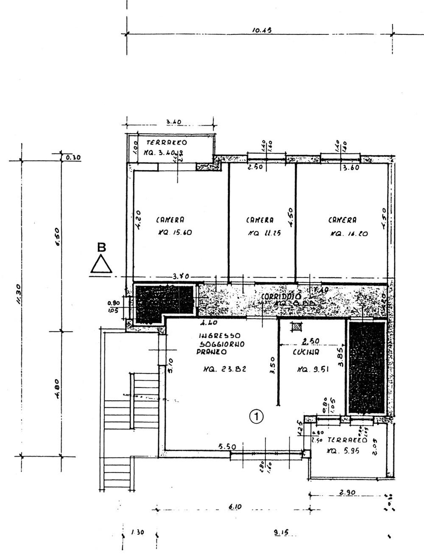 Planimetria 1/2 per rif. 8861