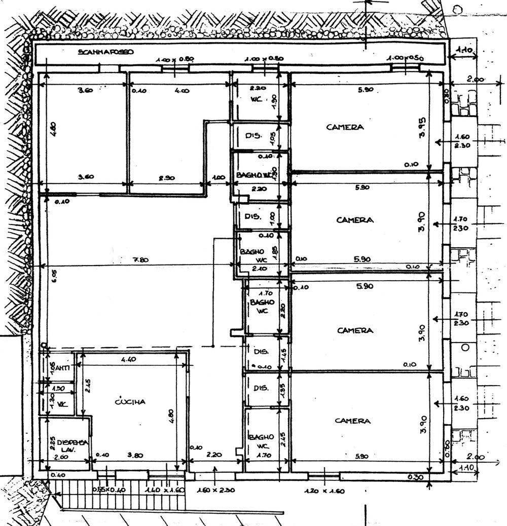 Planimetria 1/1 per rif. 8863