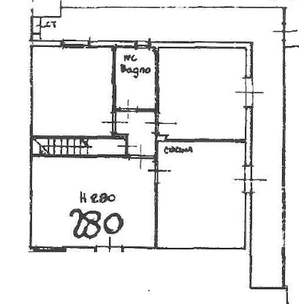Planimetria 1/3 per rif. 8865
