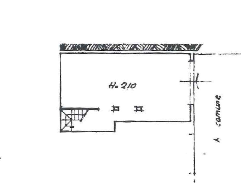Planimetria 2/3 per rif. 8865