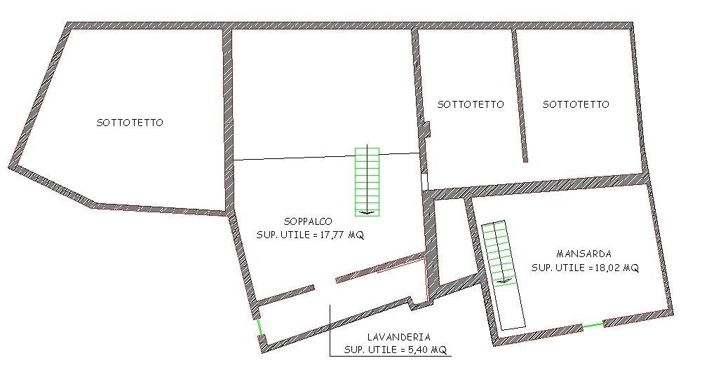 Planimetria 2/2 per rif. 8872